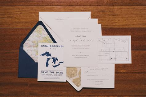 and steves zingermans fourth wedding in arbor on - Wedding Invitations Waterford Mi