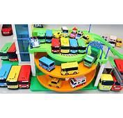 타요 꼬마버스 주차장놀이 뽀로로 폴리 장난감 мультфильмы про машинки Поли