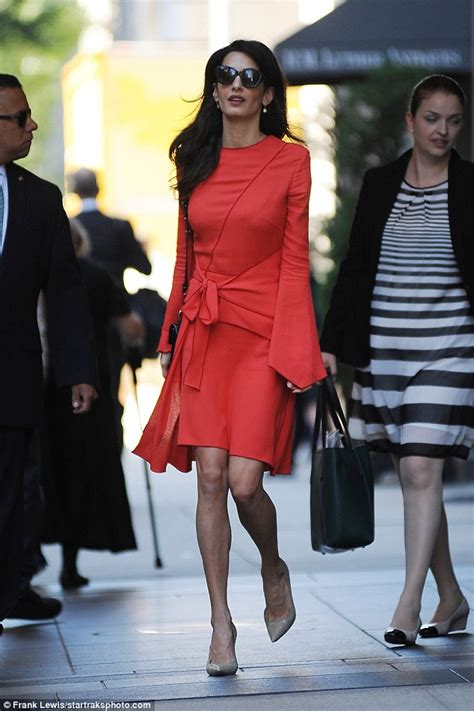 amal clooney looks glamorous best as she returns to