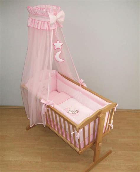 9 crib baby bedding set 90 x 40 cm fits swinging