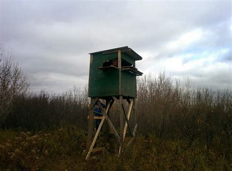 Hunting Shack Floor Plans by Diy Elevated Hunting Blinds The Hunting Gear Guy