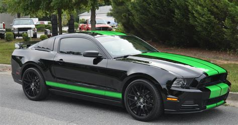 black mustang green and black mustang 23 free wallpaper