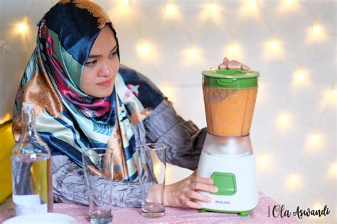 Blender Philips Malang launching review philips blender hr 2057 ola aswandi
