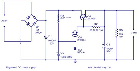 transistors ac dc conversion how much can i draw