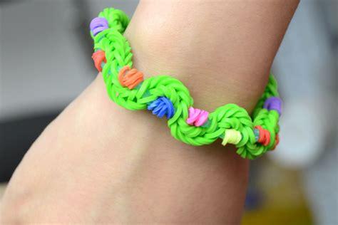 twist rubber band bracelet  hand pandahallcom