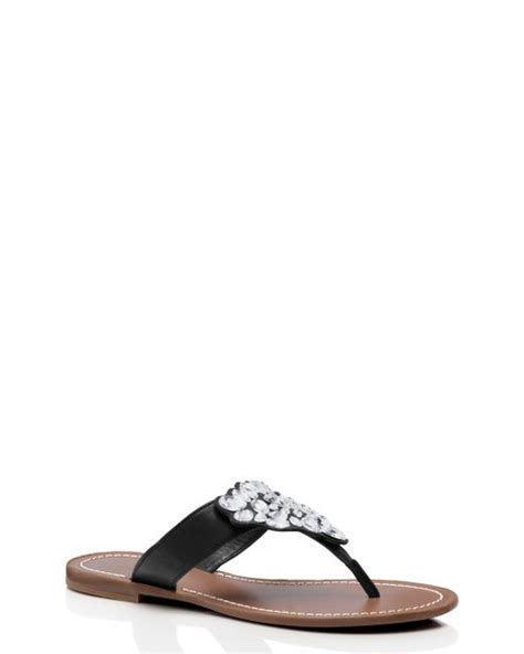 Genevieve Sandals By Kate Spade by Kate Spade Cora Sandals In Black Save 64 Lyst