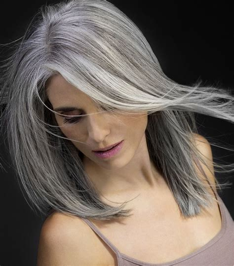 hairstyles for turning grey grey highlights while hair turning grey hairstyle gallery