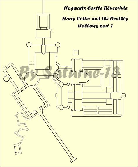 hogwarts castle blueprints 8 by saturne 13 on