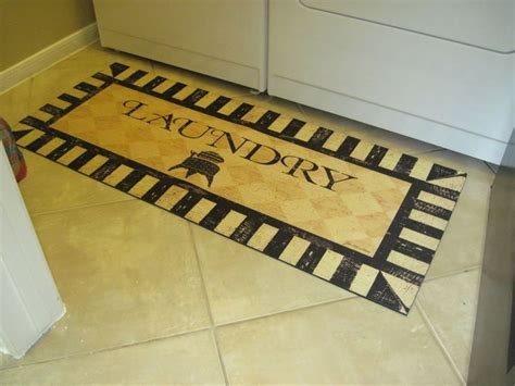Laundry Room Rug by Runners Home And Vintage On