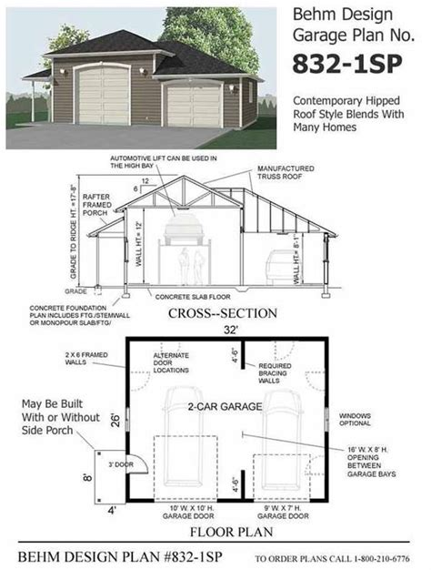 garage plans with porch cars 2 car garage plans and side porch on