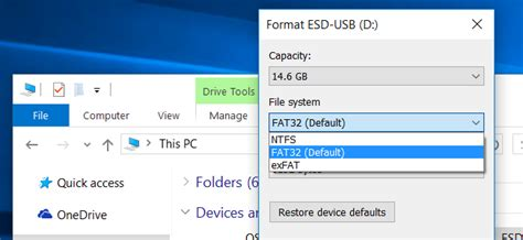 format flash drive ntfs mac os x what s the difference between fat32 exfat and ntfs