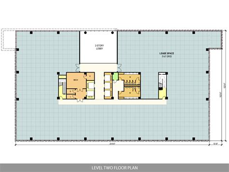 2 floor building plan ten story west belt office