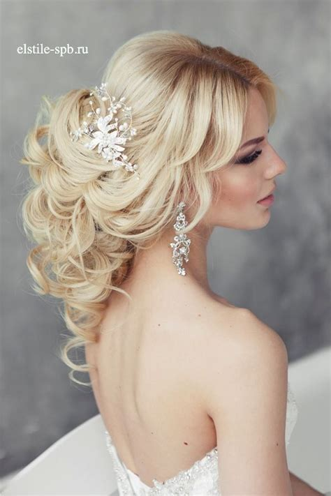 Wedding Hairstyles With Headpiece by Wedding Hairstyles Wavy Wedding Hairstyle With