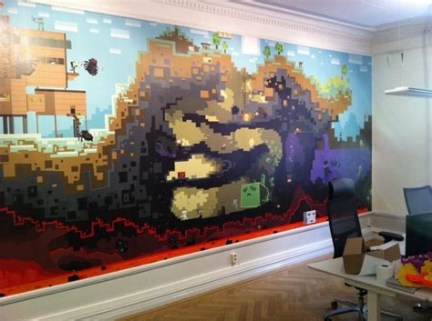 Minecraft Bedroom Murals 1000 Images About Minecraft Bedroom On