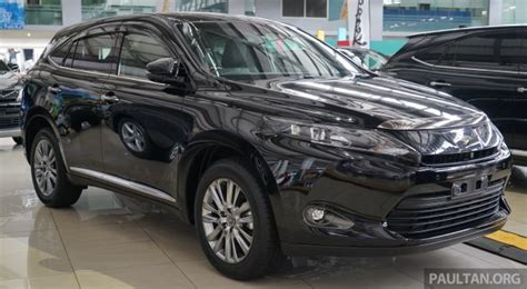Toyota Harrier Price In Malaysia Gallery Toyota Harrier 2 0 Premium Advanced Spec