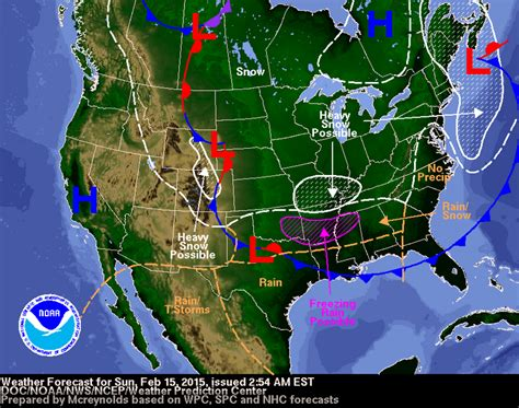 us weather map february arctic conditions in united states your news wire