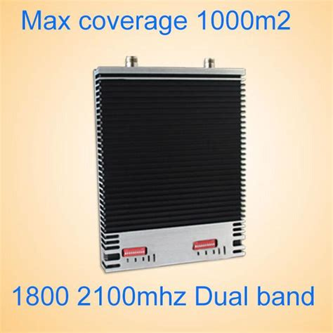 4g Repeater Dual Band 1800 2100mhz Booster 3g 4g 1800 2100mhz dual band signal booster lte1800 3g 2100mhz cell phone signal lifier shenzhen