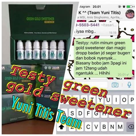 Bio Spray Gold 75 Ml Original Msi msi green gold sweetener solusi mengobati penyakit diabetes