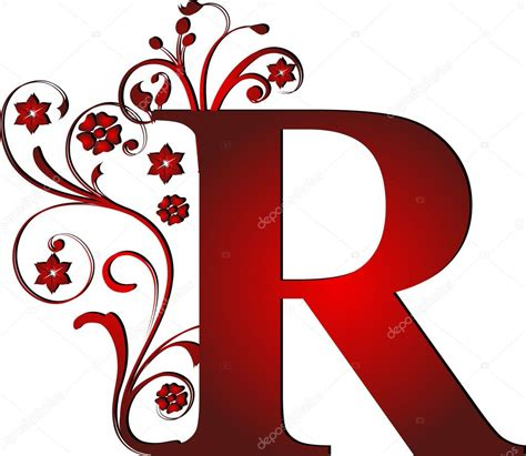 fancy red letter a www pixshark com images galleries capital letter r red stock vector 169 pdesign 6072159