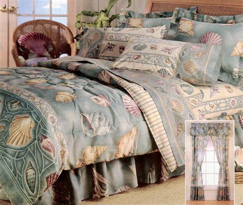 seashell comforter set seaside inspiration pinterest