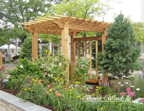 arbor ideas backyard bower woods llc custom garden structures rustic pergolas