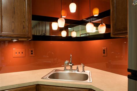 colored glass backsplash kitchen dreamwalls color glass is the ideal backsplash for breakrooms