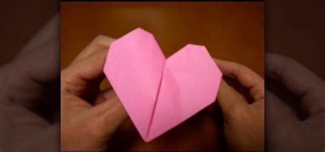 How To Make A Origami Beating - how to origami a pink beating 171 origami wonderhowto