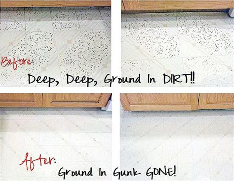 getting ground in dirt out of vinyl flooring one good thing by jillee