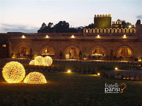 sfere luminose da giardino fratelli parisi luminarie illuminazione natalizia