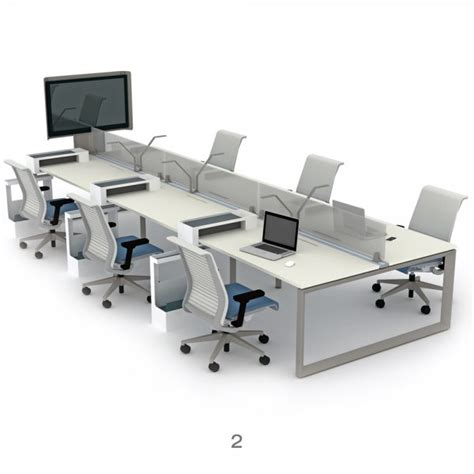 steelcase benching steelcase frameone loop bench desks office desks