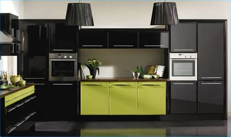 lime green black kitchen decor ideas pinterest