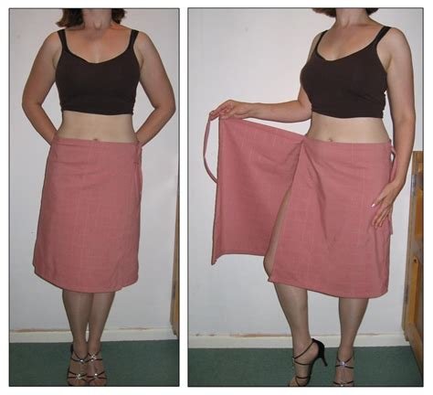 wrap around pink wrap around short skirt by s e o on deviantart