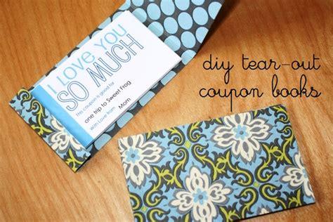 wayward girls crafts father s day coupon books