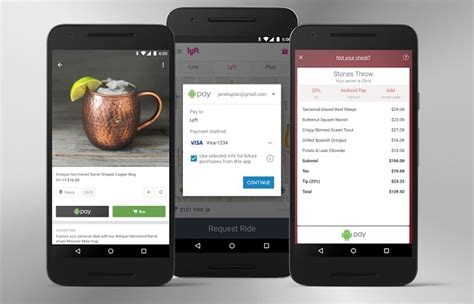 android apps that pay you you can now use android pay in apps geeky gadgets