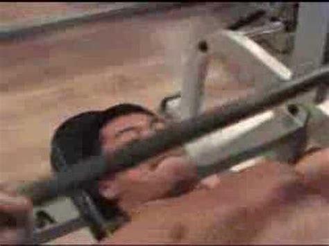 dumbel bench press han seul gi korean bodybuilder chest 1 workout video