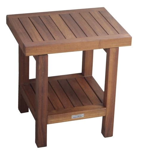 teak bench for bathroom teak shower bench bath florist home and design