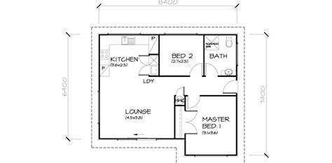 Floor Plan For 2 Bedroom House by 2 Bedroom Transportable Homes Floor Plans