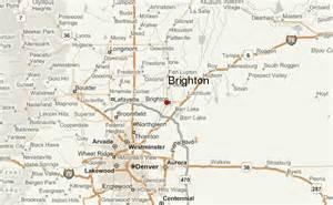 brighton colorado map brighton colorado location guide