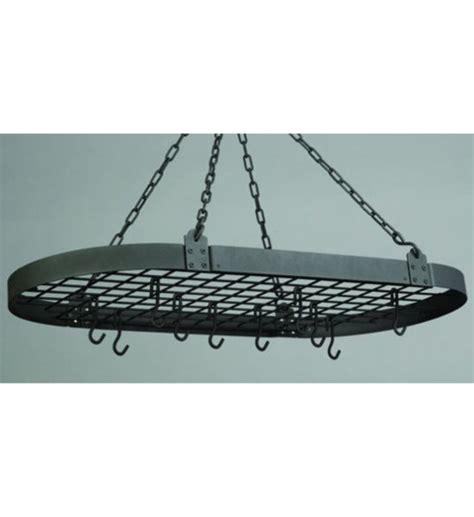 gestell zum holzstapeln oval hanging pot rack oval matte black hanging pot