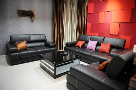 black leather living room furniture sets very elegant black leather living room furniture sets
