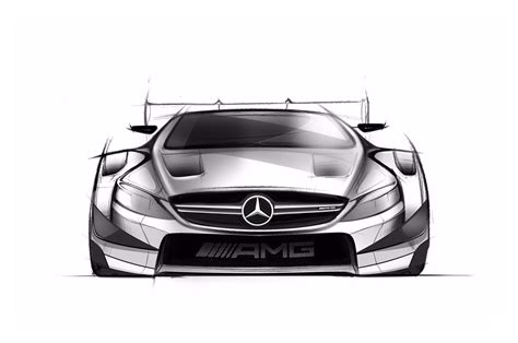 Skizze Auto by 2016 Mercedes Amg C63 Coupe Dtm Racer Revealed In Sketches