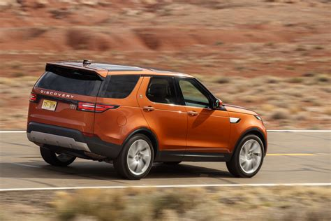 orange land rover discovery new land rover discovery arriving in uk this week starting