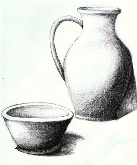 Sketch Of A Vase by Resultado De Imagem Para Easy Still Drawings In