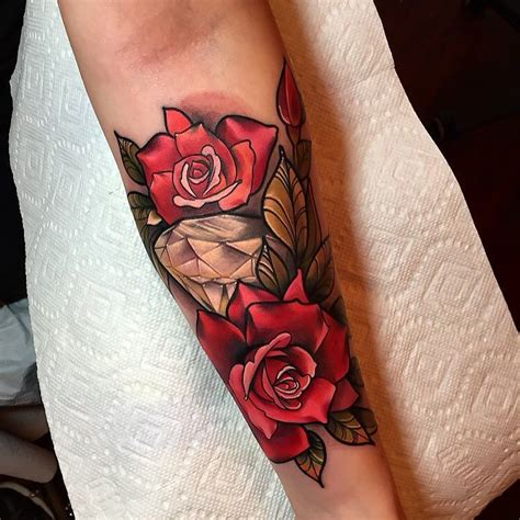new skool rose tattoo new school search tattoos i like