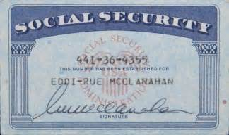 make your own social security card rue mcclanahan social security card current price 150