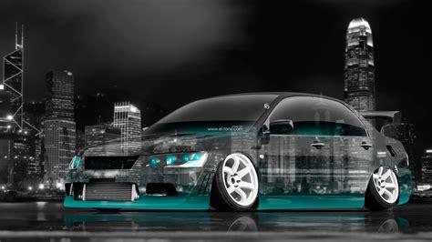 jdm tuner 4k mitsubishi lancer evolution jdm tuning crystal city car