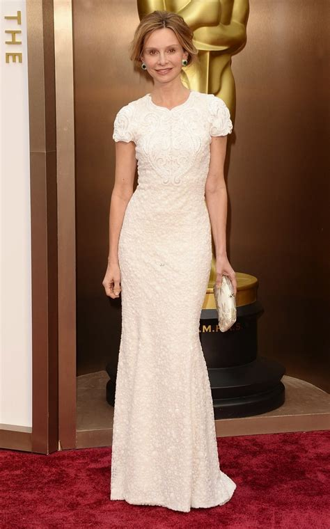 Oscars Carpet Calista Flockhart what they wore academy awards oscars 2014 the fashion