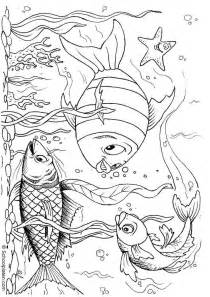 ocean coloring page coloring home