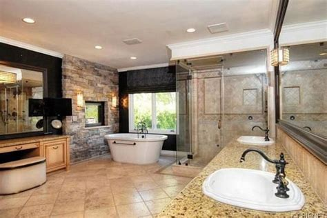 kaley cuoco bathroom kaley cuocos luxury home luxury topics luxury portal