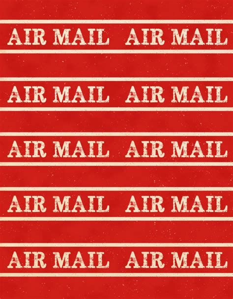 printable airmail stickers printable vintage gummed labels inspired by dennison
